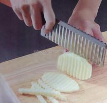 Potatoes Vegetables Wave Knife Slicer Cutter Chopper French Fries Maker / potato wave slicer