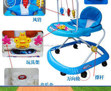 8 wheels plastic Baby walker ,walking chair with factory price,safty Baby carrier