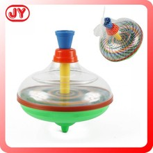 2015 Hottest plastic toys spinning top toy for kids