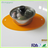 Flexible silicone sheets,Hot resistant silicone pot mat