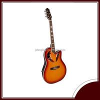 plastic round back acoustic guitar