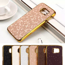 New design metal phone case for samsung galaxy s6 with football patten