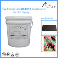 ZR500 Fireproof silicone potting compound for led display
