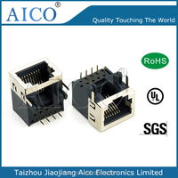 RJ45 Straight Connector RJ45 Connector with 90 degree