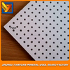 Mineral fiber ceiling board punch design/perferated design