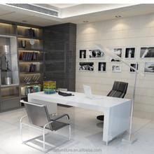 custom made elegant modern computer table /desk design,modern executive desk office