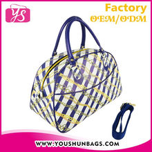 Artificial leather ODM tote bag for cute girl