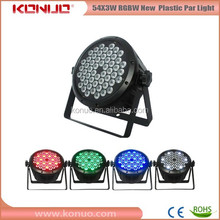 Cheap 54x3w led par / flat led par 64
