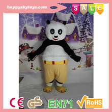 Happy Island CE Hot selling kongfu mascot,inflatable mascot,inflatable sports mascots