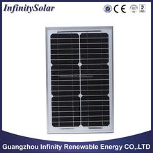 Monocrystalline Solar Panel with 150Wp Maximum Power, Suitable for Streetlights