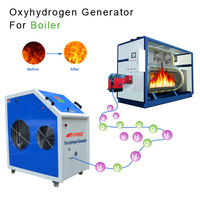 220v/380v HHO hydrogen gas fuel saver free energy generator