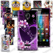 2015 New Soft TPU Gel Printing Protective Cover Case For Prestigio MultiPhone 5451 DUO Mobile Phone Bag Free Shipping