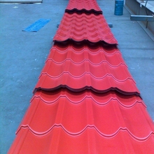 0.3mm to 0.6mm best selling galvanized/galvalume color painted steel roof