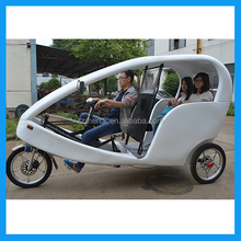 electric tricycle for transporting customers