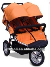 double children Baby stroller with big wheel