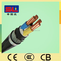 Electrical Cable Types Cu/XLPE/SWA/PVC Cable 4x70 mm2