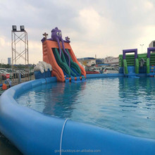 from china manufacturer lane rope line pool safety monitor very large inflatable swimming pool