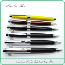 High quality logo imprint promotional gift metal deluxe pen