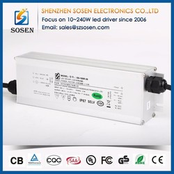 For led lights aluminum metal case high efficiency CE approved 38V waterproof electronic led power driver