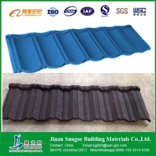 High Quality Classical Building Villa Stone Coated Metal Roof Tile