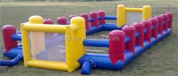 Inflatable human table football for sale