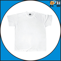 Nice Quality blank white t shirt for sublimation printing