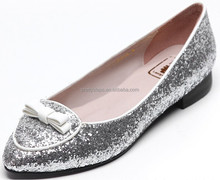 Pretty Steps 2014 nude fat sexy women chinese girls photos ladies leather Casual big size silver gold flat shoe online shopping