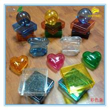 Custom plastic box, bunny, ball ,heart shapes, many colors