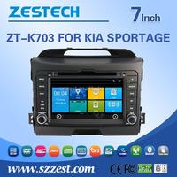 car audio radio car dvd gps player for KIA sportage car radio with bluetooth gps navigation
