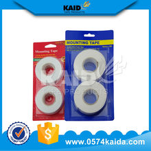 Trade Assurance china supplier high quality mounting tape printing,single pack double sided mounting squares tape