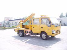 Isuzu Truck Mounted Highway Guardrail Post Driver