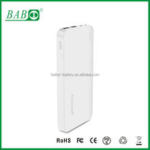 High tech fast charging 5V 2.4A portable power bank QC 2.0 power source in Guangdong