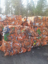 PP BIG BAGS GRADE C baled unwashed recycled plastic scraps
