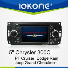 Auto Stereo GPS Navigator for Chrysler 300C/PT Cruiser/Dodge Ram/Jeep Grand Cherokee