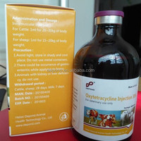 Veterinary medicine Oxytetracycline Injection 20% 30% antibiotic medicine in cattle