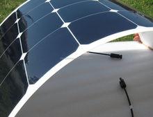 100w 200w 250w sunpower flexible solar panels