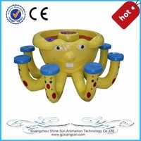 Happy amusement game octopus design sand paly equipment
