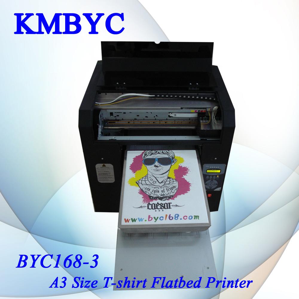 8 color fantastic t shirt flatbed digital printing machine for T shirt digital printer