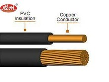 UL2464 4C 22AWG insulated copper wire/electric cable