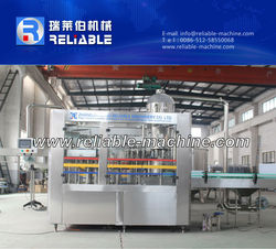 Medium Capacity Automatic Bottle Apple Juice Filling Machine