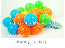 venta caliente de plástico 6cm paraíso bola hecha en china de bebé de juguete chico al aire libre juguetes