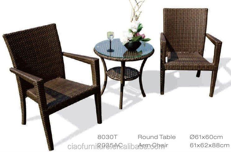 2015 저렴한 등나무 유리 커피 숍 테이블과 의자-커피 테이블 ...