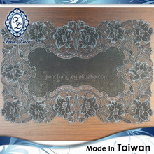 Elegent Plastic Black Lace Table Mat