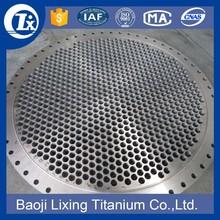 Best-selling Titanium tube plate by Baoji LIXING Titanium co., ltd.