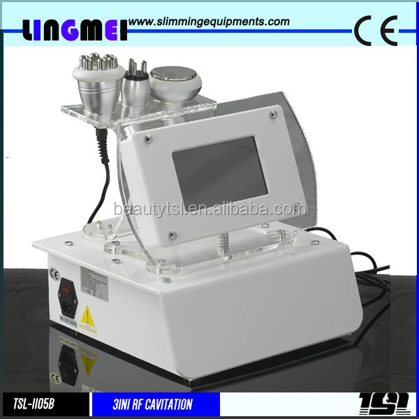 Tsl-1105b Lingmei de calidad superior con proveedor multipolar tripolar rf lipocavitation rf equipo