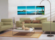 40*40*4 pieces scenery pictures, wall canvas painting pictures of landscape