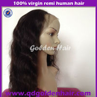 100% Brazilian Human Hair Natural Straight Cheap Lace Front Wig