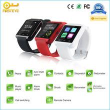 waterproof bluetooth smartwatch bluetooth sync phone smart watch u8