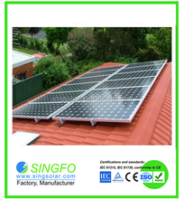 Photovoltaic 2KW off grid solar electric power systems for energy saving appliance