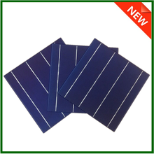 6x6 inch High efficiency A grade silicon poly solar cell made in Taiwan